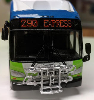 1/87 Scale bus