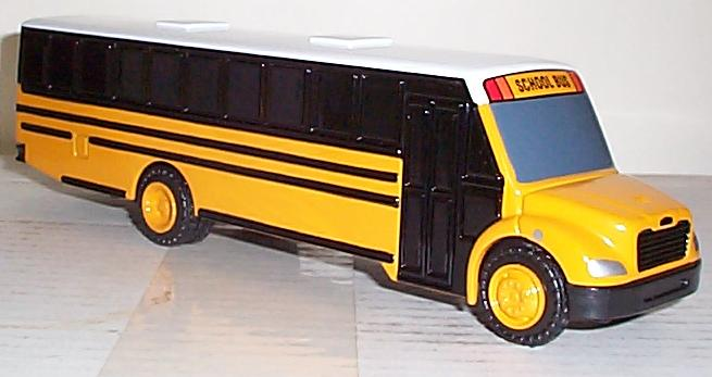 Thomas Built Model School Bus  model,bus,bus,bank,bus,bank,promotion